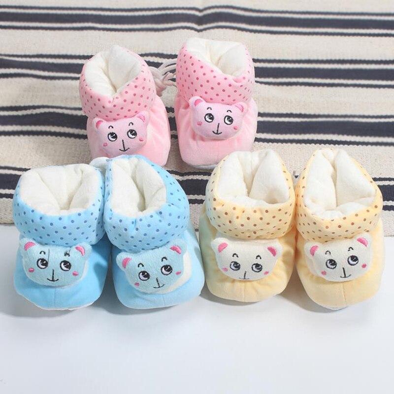 Classic Cotton Newborn Baby Shoes