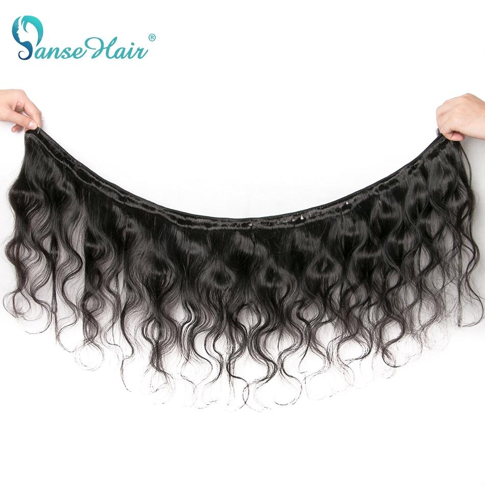 Extensões peruanas do cabelo da onda do