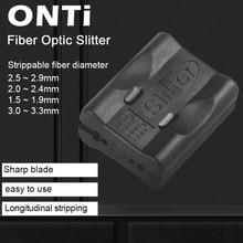 Onti繊維光学ルースチューブケーブルジャケットスリッター光ファイバツール縦ビーム管ルースチューブスキニングナイフストリッパー