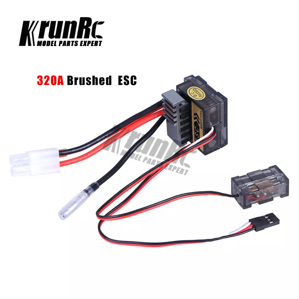 New 320A Brushed Speed Controller ESC For RC Car Boat Truck Motor R//C