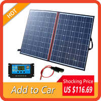 100 W 110W 120W 140w 150W 18v Faltbare Solar Panel Tragbare Outdoor günstige solar panels china für Wandern Auto & Boot batterie Ladegerät