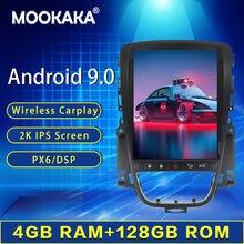 128G Tesla Style pour 2010 2011 2012 2013 OPEL Vauxhall Holden Astra J Android 9 voiture lecteur multimédia GPS Radio stéréo unité principale