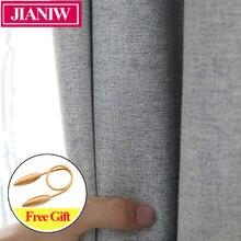 Jianiw 80 85% Затемняющая занавеска для украшения дома гостиной