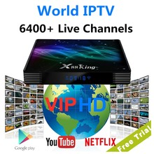 Android IPTV Europe Arab X88 King Sweden Finland Czech Slovaki Slovenia Malta Media Player Poland Norway X88 Tv Box XXX Thailand(China)