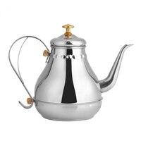 Despeje Gooseneck Bule De Chá De Aço inoxidável Chaleira de Café Por Gotejamento Filtro de Chá Interior Pote Pote de Café Chaleira Gotejamento Cafeteiras     -