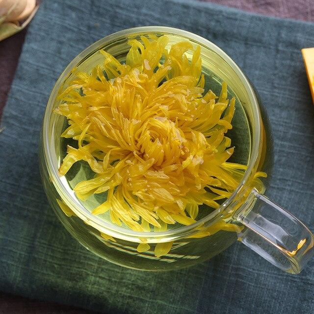 شيوشوي أقحوان زهرة مفردة لكوب حزمة الفردية حقيبة الرعاية الصحية الشاي أقحوان الأصفر تقليل ضغط الشاي