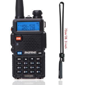 Image 1 - BaoFeng UV 5R Walkie Talkie VHF/UHF136 174Mhz&400 520Mhz Dual Band Two way radio Baofeng uv 5r Portable Walkie talkie uv5r