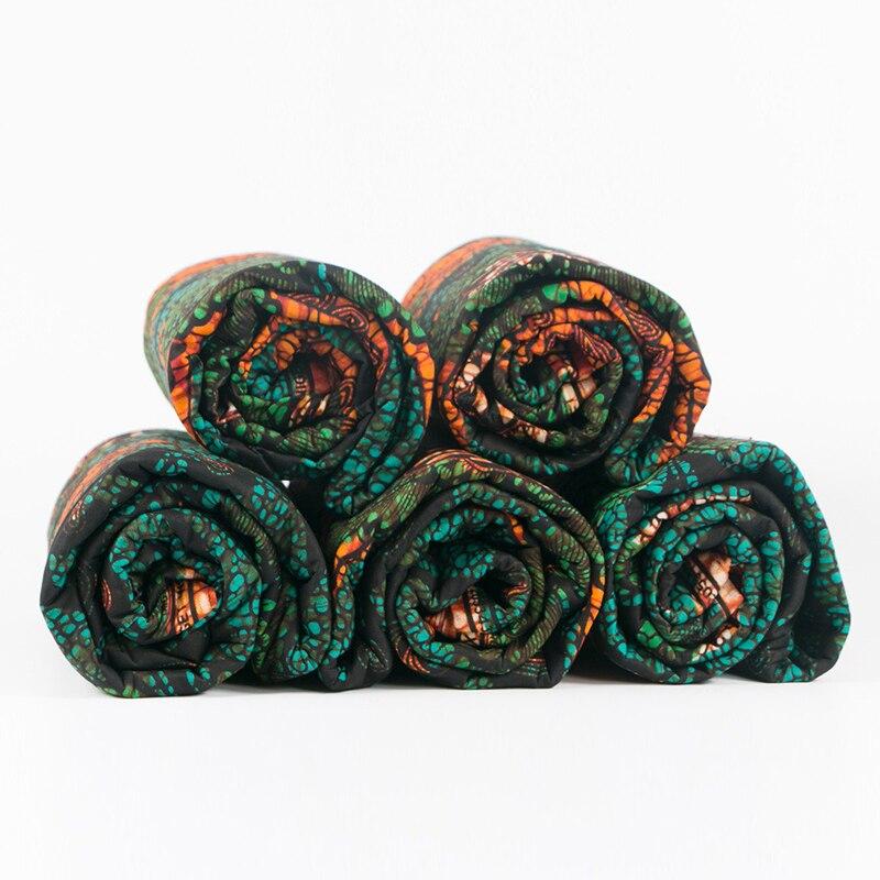 Ancara imprime tecido cera tissu material de