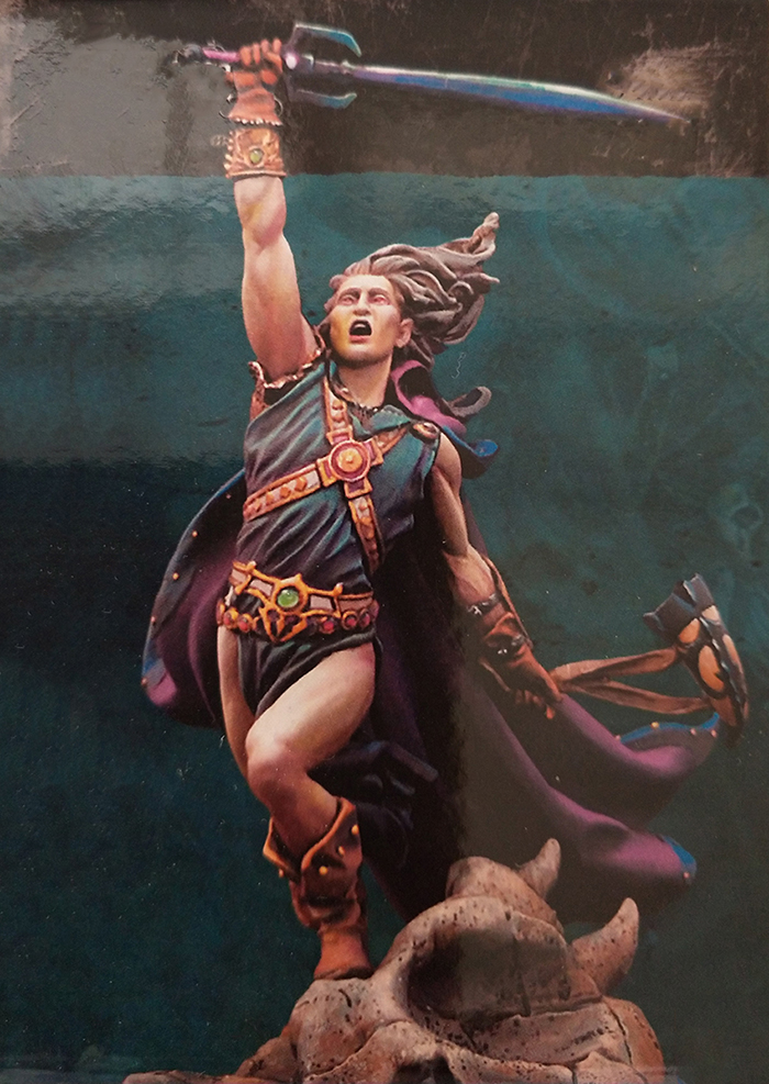 1/32 54mm Ancient Woman Warrior Include Base    Resin Figure Model Kits Miniature Gk Unassembly Unpainted