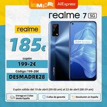 Realme-teléfono inteligente 7 5G versión Global, 6GB, 128GB, 6,5
