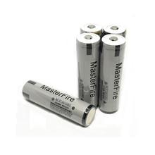 цена на MasterFire 20pcs/lot Protected Original 18650 NCR18650BD 3.7V 3200mAh 10A discharge battery for Panasonic e-cigarettes batteries