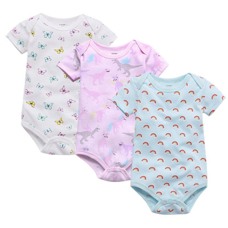 Vente directe carter bébé triangle vêtement coton combinaison à manches courtes escalade vêtement sac bébé vêtement