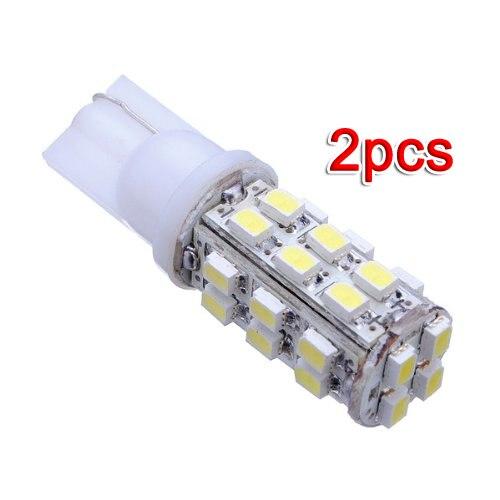 Neue 2x T10 501 W5W 3528 SMD 28 LED Nacht Glühbirne Lampe Xenon Weiß Auto Auto 12V keil decke lichter