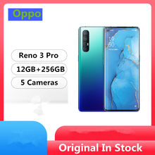 "Original Oppo Reno 3 Pro 5G Mobile Phone Snapdragon 765G Android 10.0 6.5"" 90HZ 12GB RAM 256GB ROM 48.0MP Screen Fingerprint(China)"