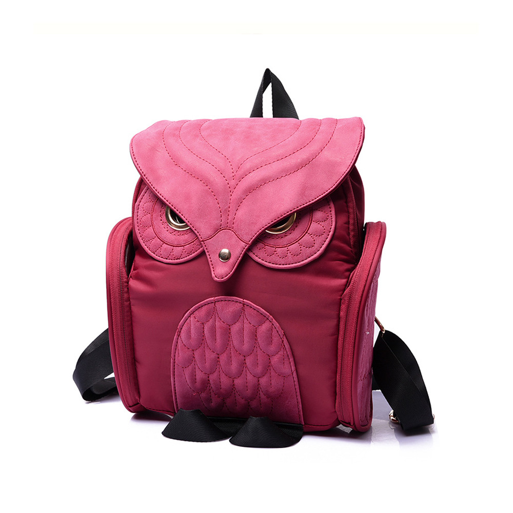 Fashion Vintage Owl Elegant Women Men Bag Backpack Women Backpack Travel Shoulder Bag Rucksack