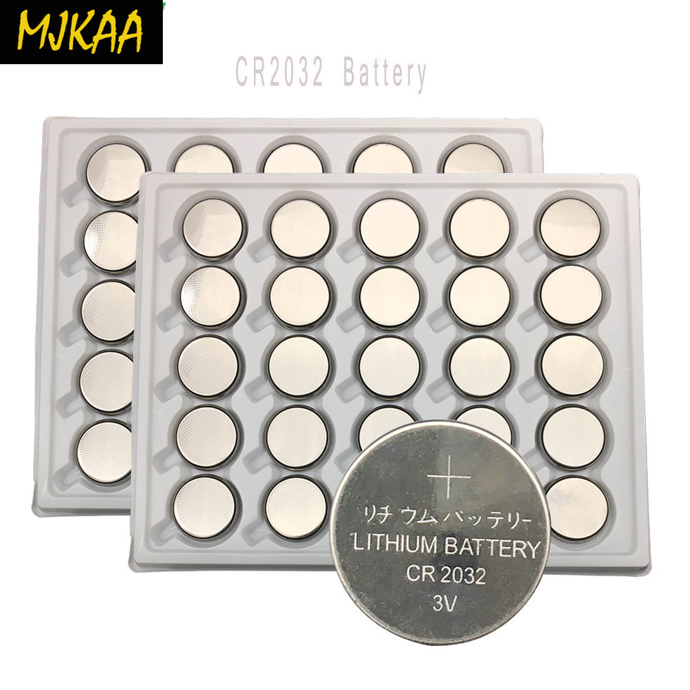 50pcs 3V CR2032 Lithium Button Cell <font><b>Battery</b></font> BR2032 DL2032 E Coin <font><b>Batteries</b></font> image