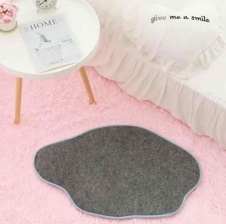 1 Pc Entzückende My Melody Little Twin Sterne Pudding Cinnamoroll Hund Plüsch Teppich Cartoon Fuß Pad Tür Matte Teppich Plüsch spielzeug Geschenk