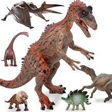 Экшн Фигурка динозавра модель Юрского периода трицератопс стегозавр