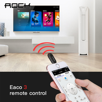 ROCK Universal Wireless Smart infrared remote control for iPhone XS Max 11Pro Xiaomi Huawei  phone for TV Aircondition Projector 1