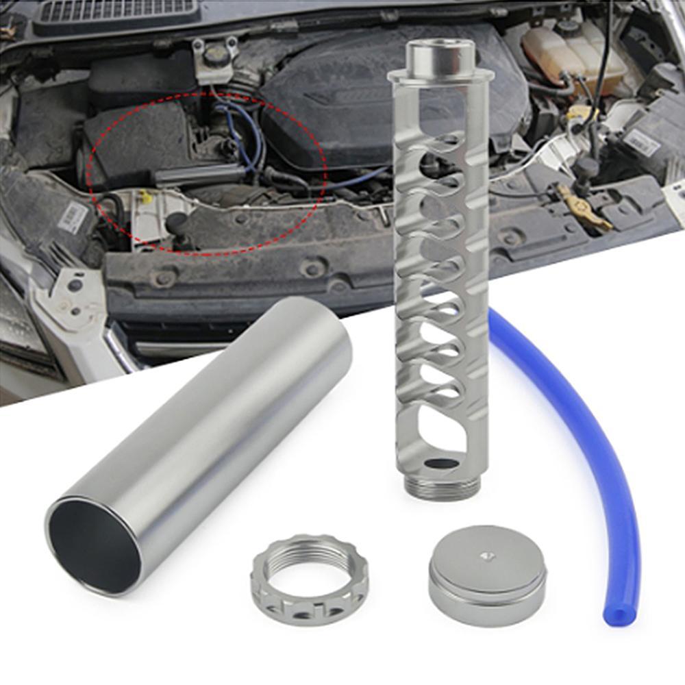 6in 1/2 '-28 5/8'-24 топливный фильтр с трубкой и концевыми колпачками для NAPA 4003 WIX 24003 черный титан
