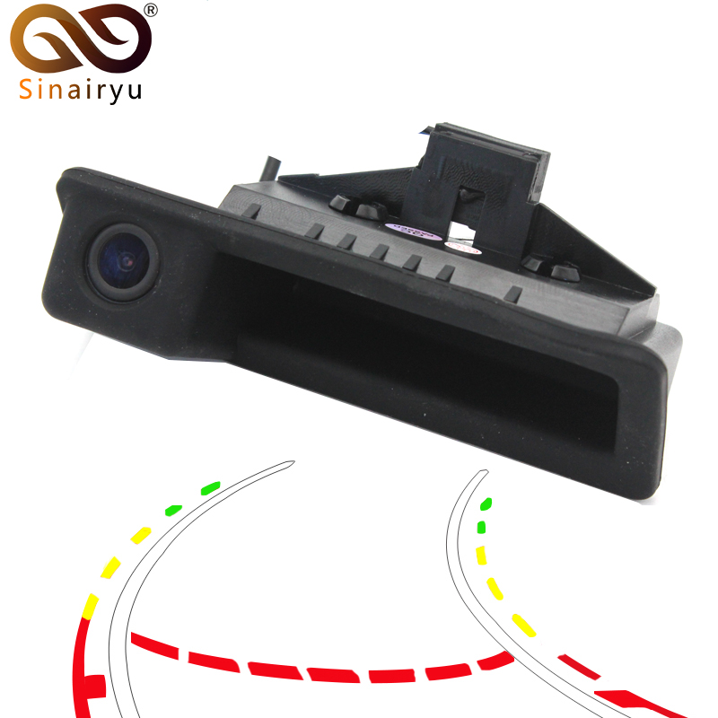 Parking Line Control 720P 140 Degree Fisheye Lens Car Reverse Backup Trunk Handle Camera For BMW 3 Series 5 Series X5 X6 E46 E39
