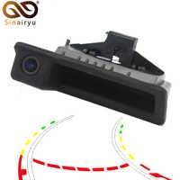 Parking Line Control 720P 140 Degree Fisheye Lens Car Reverse Backup Trunk Handle Camera For BMW 3 Series 5 Series X5 X6 E46 E39