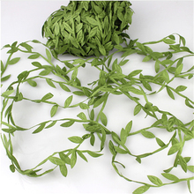 Green-Leaf Wreath-Decoration Artificial-Flower High-Simulation-Leaves Christmas Wedding-Party