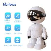 1080P Smart Robot WIFI Camera 2MP Mini nascosto Home Ip Cam allarme Baby Monitor videocitofono protezione automatica della sicurezza della pista