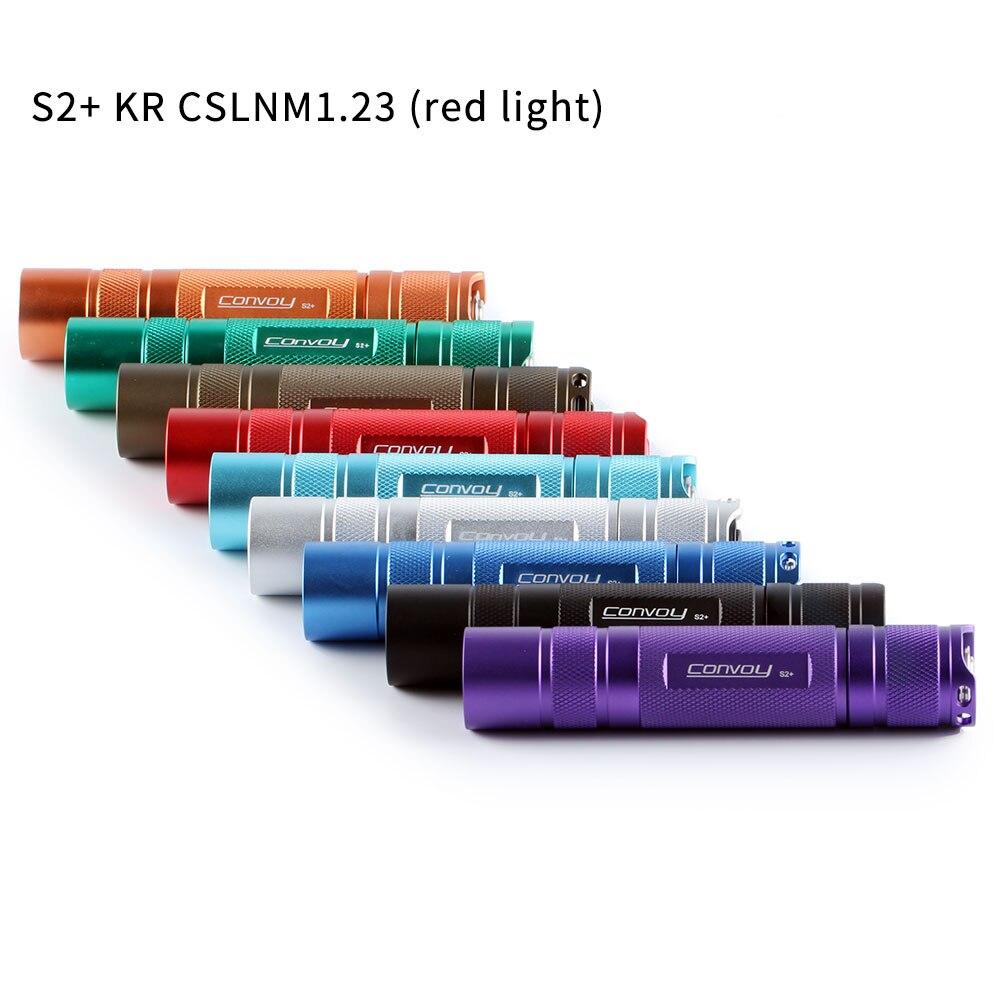 Convoy S2 + с KR CSLNM1.23 (светильник)