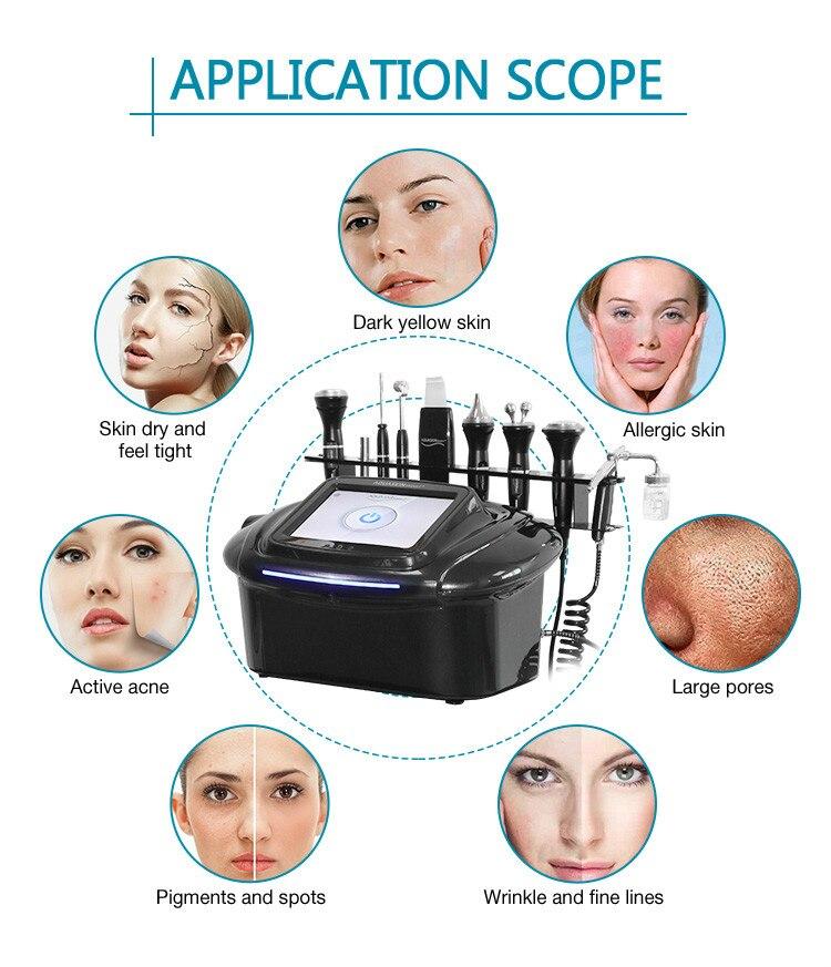Multifunction facial care facial acne skin management machine