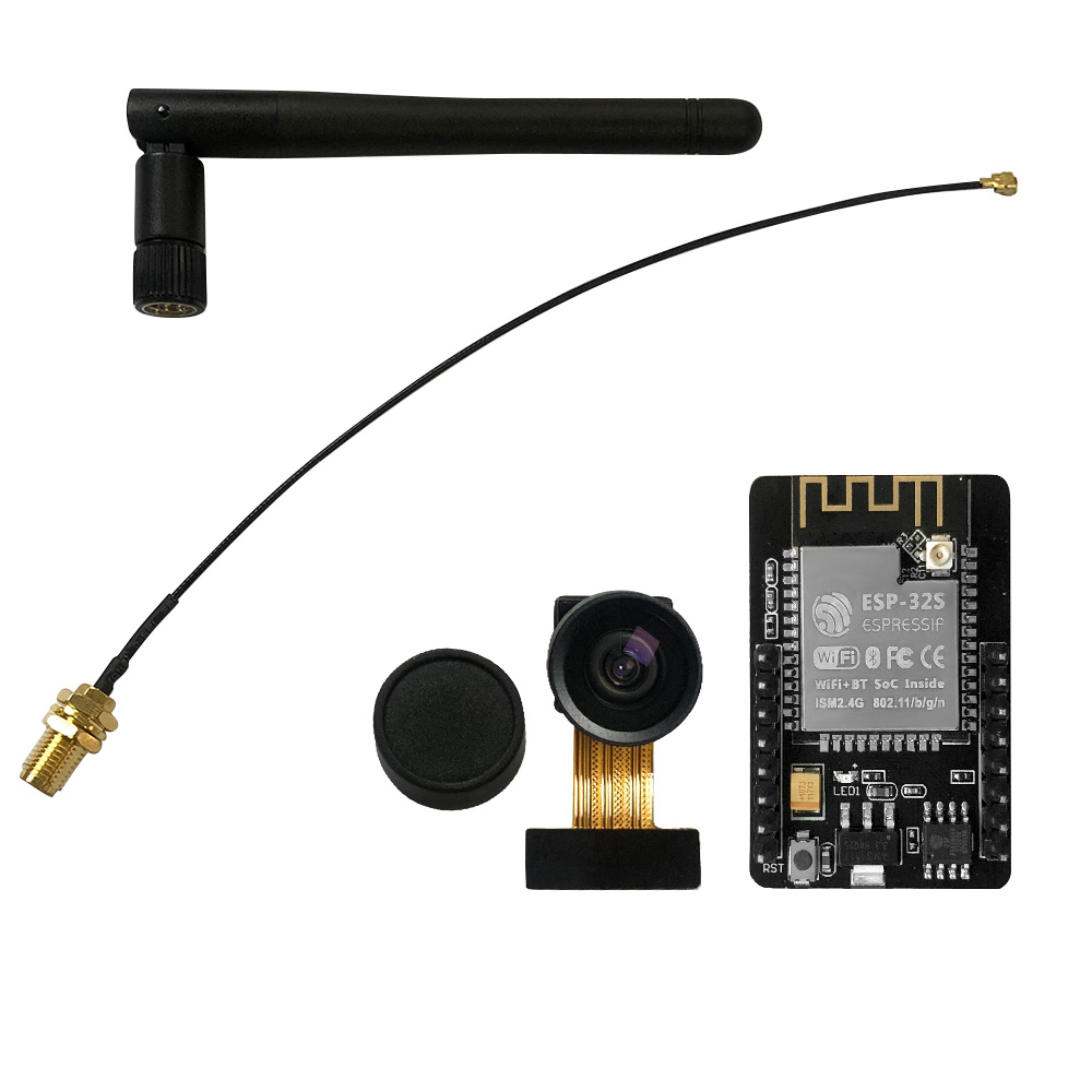 Arduino ESP32-CAM модуль ESP32 CAM Wifi Bluetooth доска с OV2640 2MP Широкий формат Камера модуль похож на ESP8266