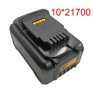 10*21700 DCB200 литий-ионный аккумулятор пластиковый чехол для защиты печатной платы от зарядки корпус для Dewalt 18V 20V 8Ah литиевый инструмент