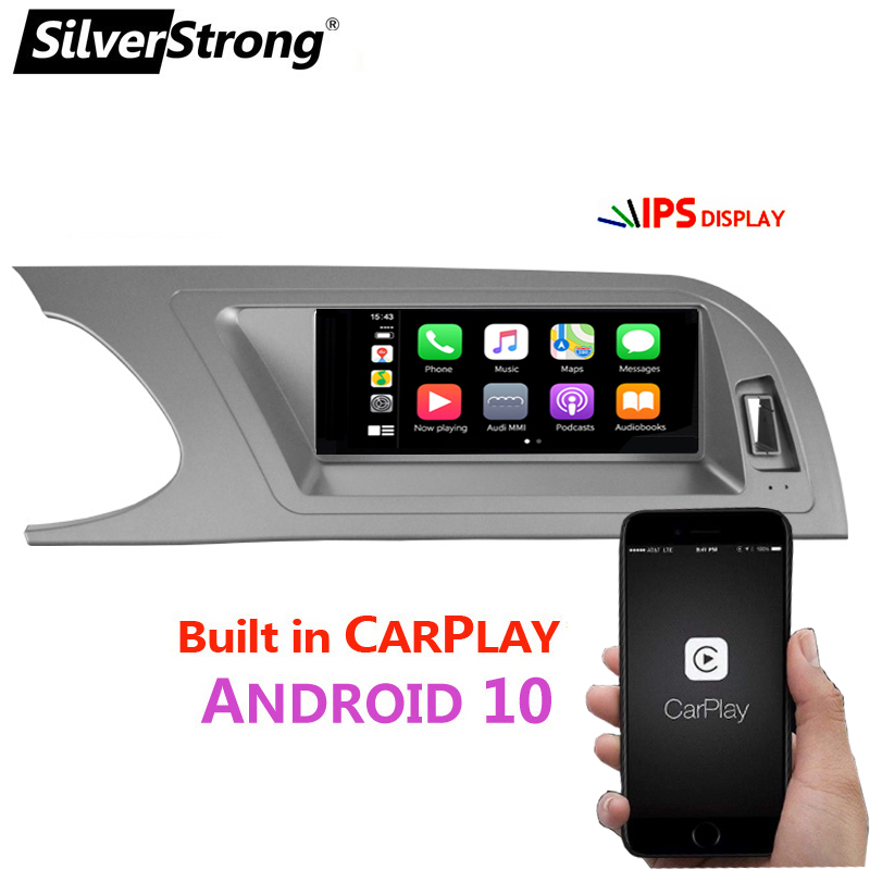 Original Style,IPS Android Multimedia,for Audi A4 A4L A5 2009 2012,Ready CARPLAY,MMI 2G,Parking Sensor,Low/High Compatible