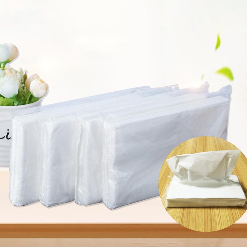 5 Packs Portable Disposable Sanitary Paper Home Hotel Restaurant Car Face Towel Tissue Napkin
