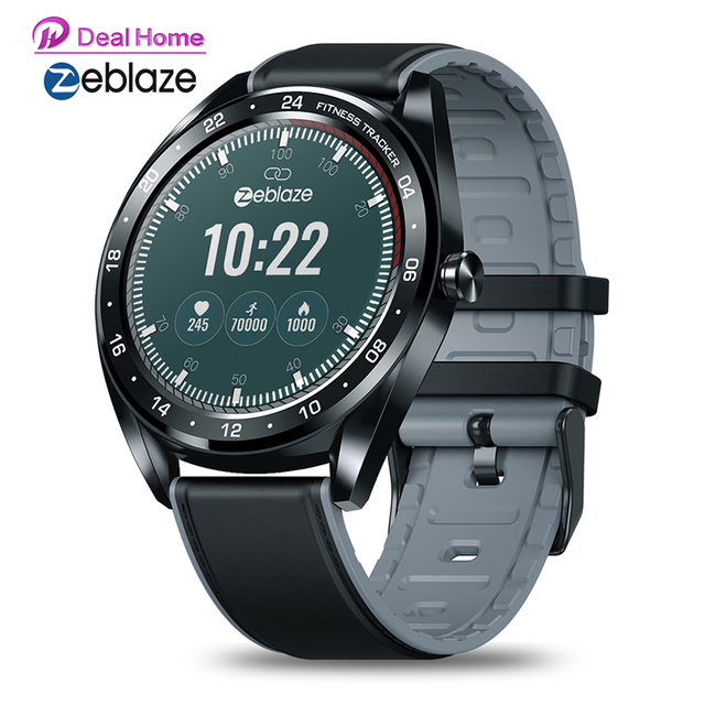 """2019 Original Zeblaze NEO IP67 Waterproof 1.3"""" IPS Color touch display Heart Rate Monitor All day Tracking Sports Smartwatch neo"""