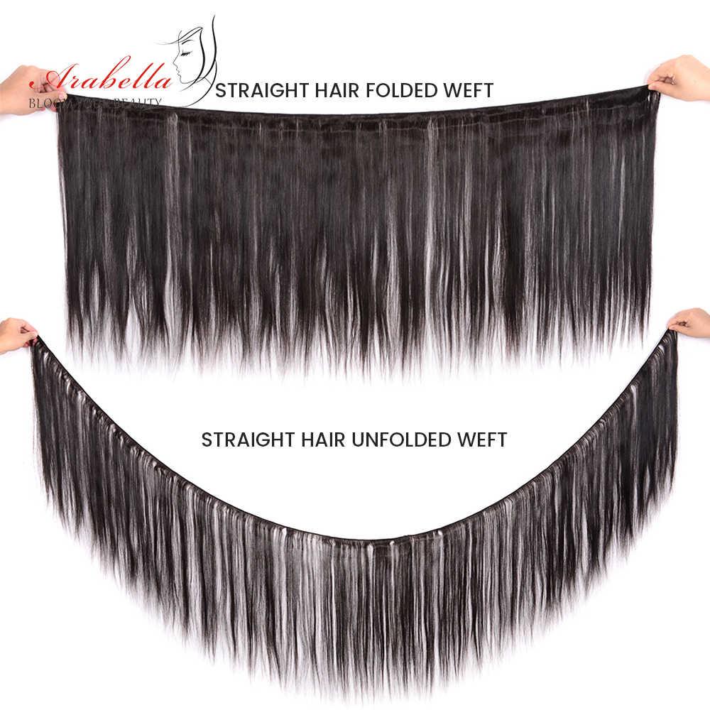 Человеческие волосы, пряди бразильские пучки прямых и волнистых волос пряди натуральные Реми волосы Арабелла 1/3/4 штуки натуральные кудрявые пучки волос пряди