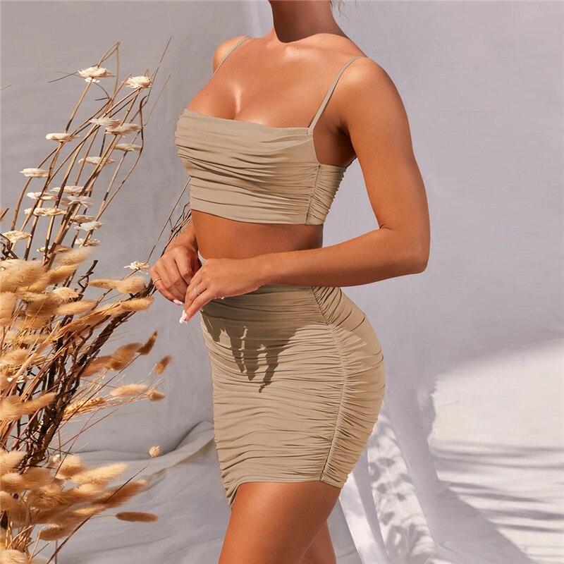 women summer set dress12