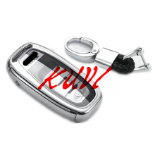 Soft TPU Key Rings Protection Cover for Audi A4 A4L A5 A6 A6L Q5 S5 S7 Protect Shell Car Styling Case Accessories