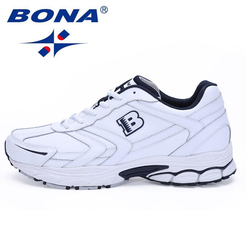 BONA Classics Stil Spitze Up Laufschuhe Männer Bequeme Sport Schuhe Outdoor Jogging Walking Herren Sportschuhe Große Größe 6 -13