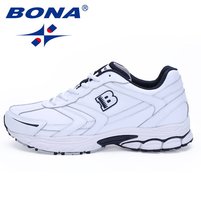 BONA Classics Style Lace Up Running Shoes Men Comfortable Sport Shoes Outdoor Jogging Walking Mens Athletic Shoes Big Size 6-13