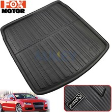 For AUDI A5 S5 RS5 B8 Coupe 2008-2016 Car Rear Boot Liner Trunk Cargo Mat Tray Floor Carpet Mud Pad Protector 2009 2010 2011(China)