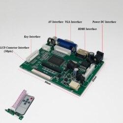 9 polegada 1024*600 tela lcd monitor tft com placa de controle remoto driver hdmi vga para lattepanda, raspberry pi banana pi