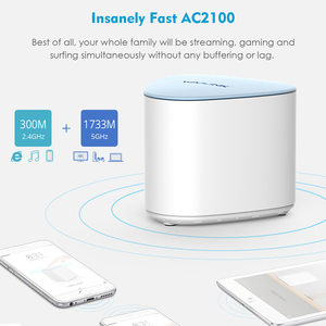 Image 4 - Original AC2100 Wireless Gigabit Wifi Router Whole Home WiFi Mesh System MU MIMO  wifi Repeater Dual band 2.4G&5Ghz Mesh Router