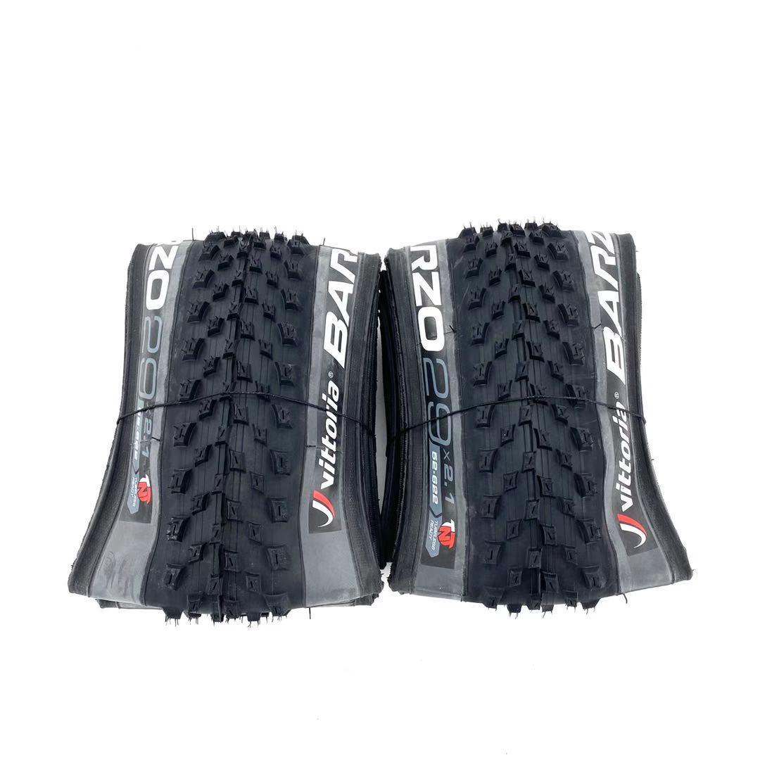 A pneumatico Vittoria Barzo 29x2.10 TNT (TUBELESS READY) pneumatici pieghevoli per Mountain bike Mtb 29 pneumatici tubeless 27.5x2.35