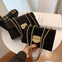 Toyoosky винтажная сумка через плечо с цепочкой 2020 зимняя