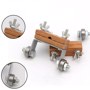 Przewodnik do honowania metalu drewno zwykły dłuto ostrzenie samolot żelazo strugarki ostrza narzędzie niebieski dłuto ostrzałka narzędzie do drewna tanie i dobre opinie EH-LIFE Ekologiczne STAINLESS STEEL 467962 Brand new knife sharpener sharpeners Wood+stainless steel