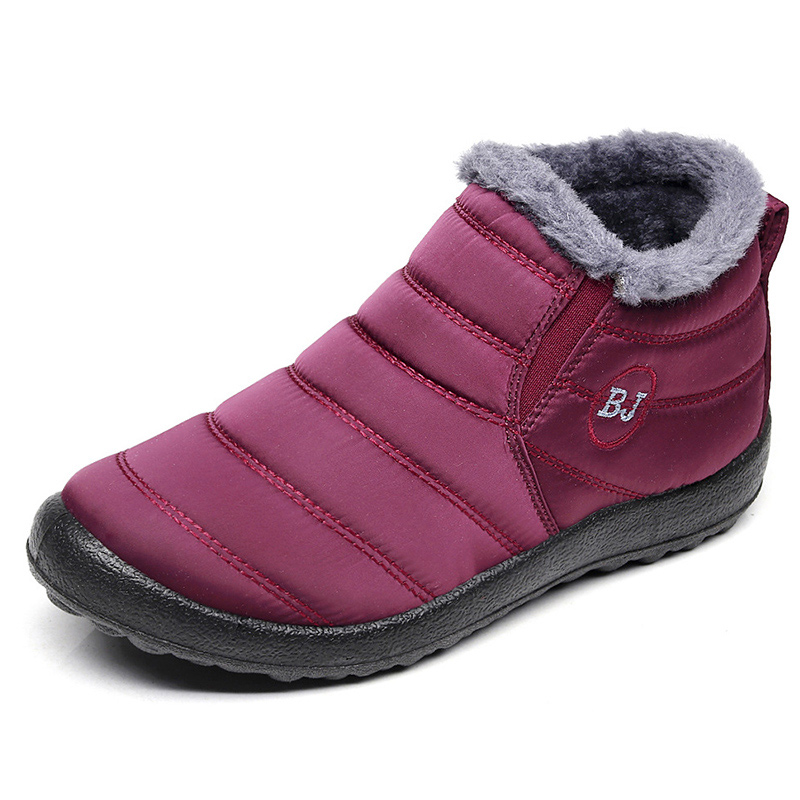 Men Boots Lightweight Winter Shoes For Men Snow Boots Waterproof Winter Footwear Plus Size 47 Slip On Unisex Ankle Winter Boots 3