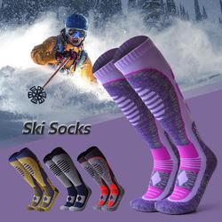 Outdoor Sport Winter Warm Verdikte Ski Sokken Over-The-Calf Sokken Voor Skiën Snowboarden