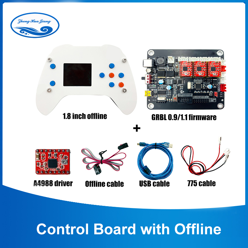 GRBL 0.9/1.1 USB Port Laser Control Board,USB 3 Axis Driver Board,for Engraving Machine CNC Mini Machine With Offline Controller