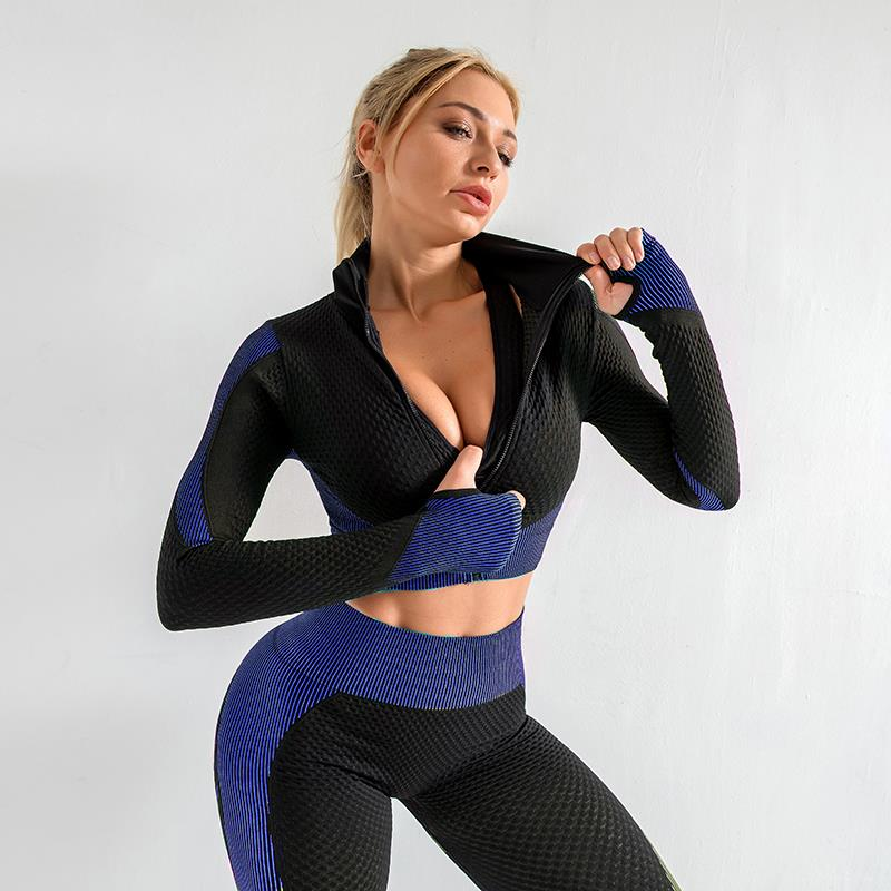 Women's 2 Piece Tracksuit Workout Outfits
